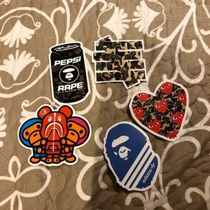 BAPE STICKERS